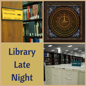 Library Late Night: Extended Research @ Kentucky Historical Society | Frankfort | Kentucky | United States