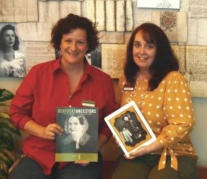Louise Jones and Cheri Daniels