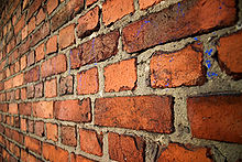 Small brick wall