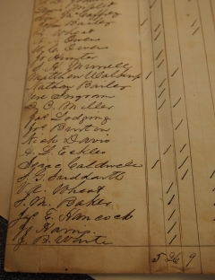 Collections Corner: 1851 Adair County Voter Record
