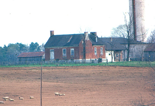 Red Brick House 1967 Once Owned By James Granville Cecil Demolished After 1997