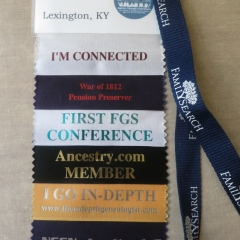 Attending National Genealogical Conferences: Tips & First Impressions