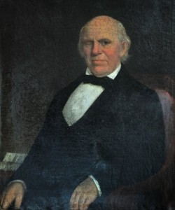 "Edward ""Uncle Ned"" Mitchell Blackburn.        Painting courtesy of the KHS Museum Collection."