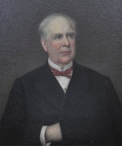 Dr. Luke Pryor Blackburn, Governor of Kentucky 1879-1883.            Painting courtesy of the KHS Museum Collection