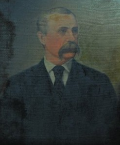 Senator Joseph Clay Stiles Blackburn. Painting courtesy of the KHS Museum Collection.