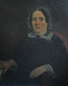 Lavinia Bell Blackburn.       Painting courtesy of the KHS Museum Collection.