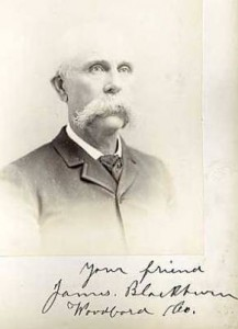 James Weir Blackburn. Photo courtesy of the KHS Archival Collection.