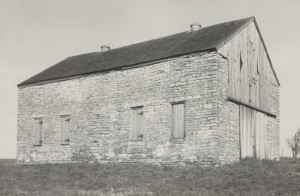 Big Spring Baptist Church, Spring Station. Erected 1811 - Burned 1962. Author's Collection