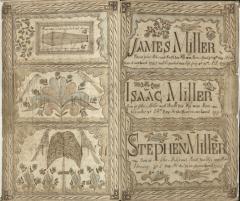 History Mystery: The Miller Family Fraktur