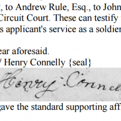 Collections Corner: Southern Revolutionary War Pensions & Rosters
