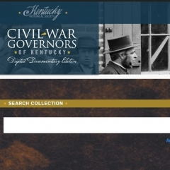 New Digital Resource: The Civil War Governors of Kentucky