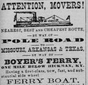 The Boyer Ferry and it's role in America's westward expansion