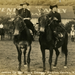 History Mystery: The Mule Derby at Renfro Valley