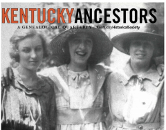 Kentucky Ancestors' Print Archive Goes Digital!