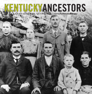Getting Started: Finding Kentucky Ancestors @ Zoom: Hosted by Kentucky Historical Society